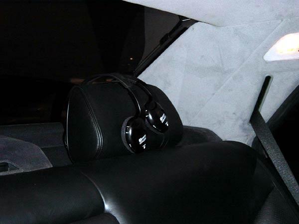 Установка в Mercedes Benz W140